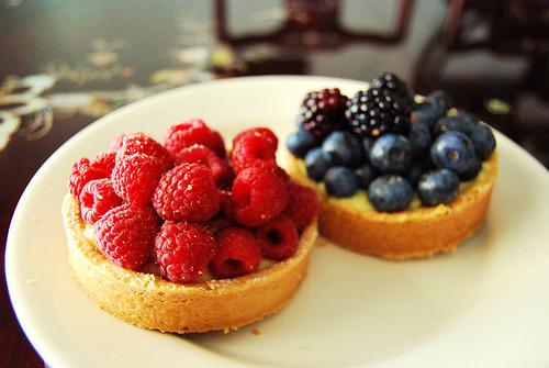 Pie, Blackberry, Tart, Strawberry, Blueberry