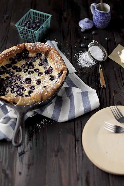 Pie, Blueberry