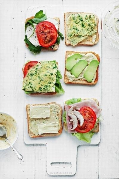 Sandwich, Tomato, Avocado