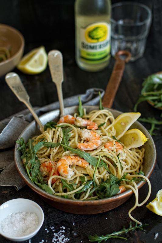Shrimp, Noodles