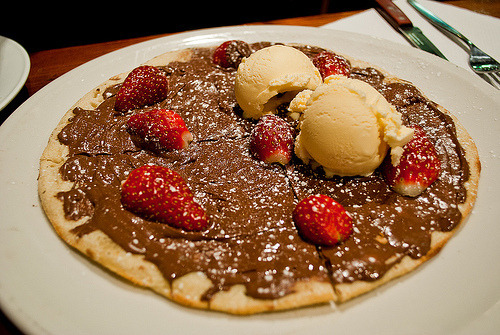 Pancake, Chocolate