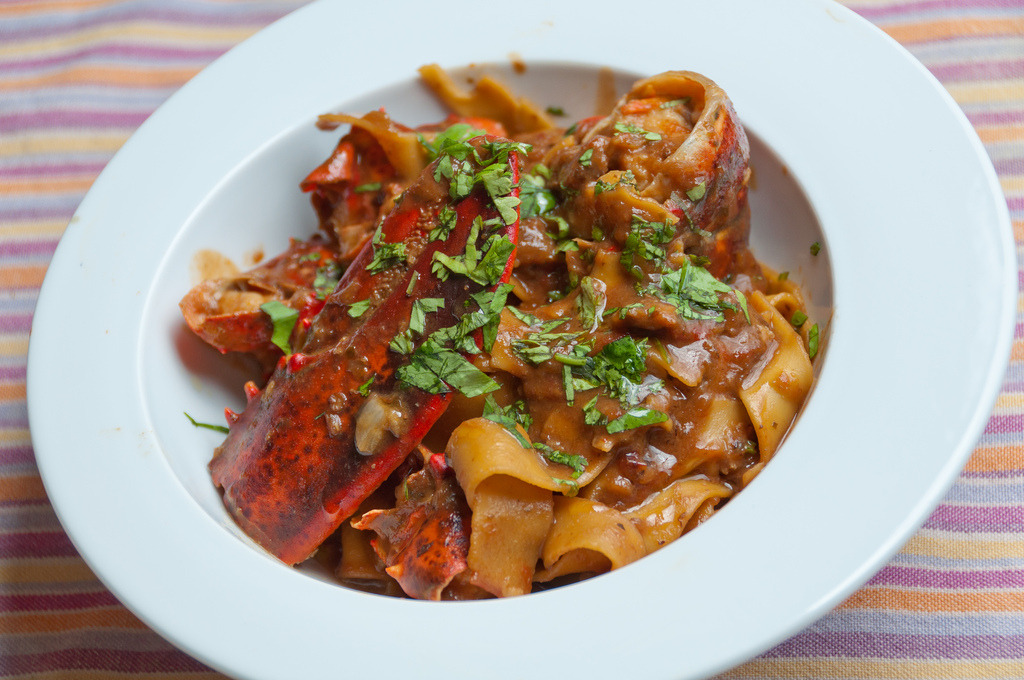 Pasta With Lobster (by Ferryfb)