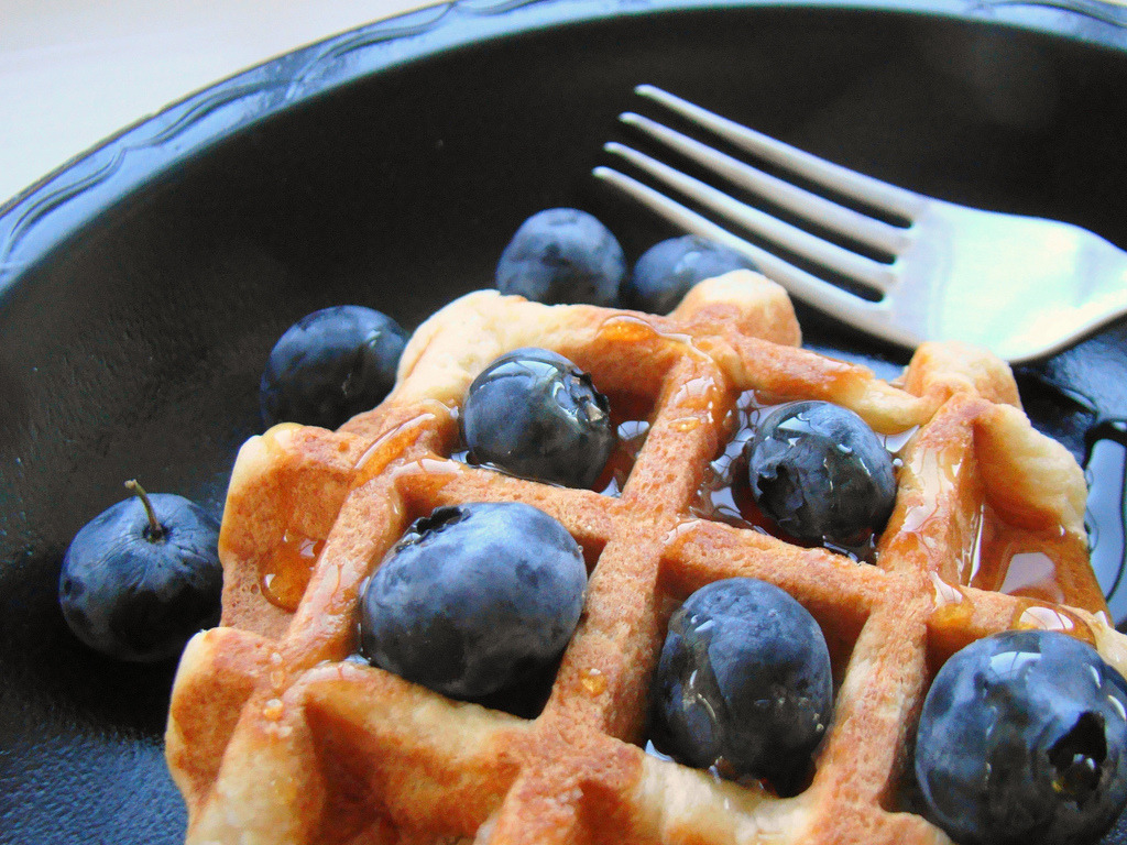 Blueberry Waffle (by Vegan Feast Catering)