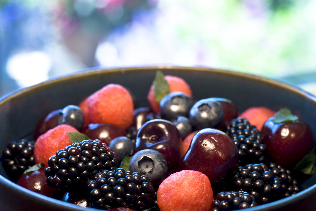 Summer Berry Fruit Salad (by madlyinlovewithlife)