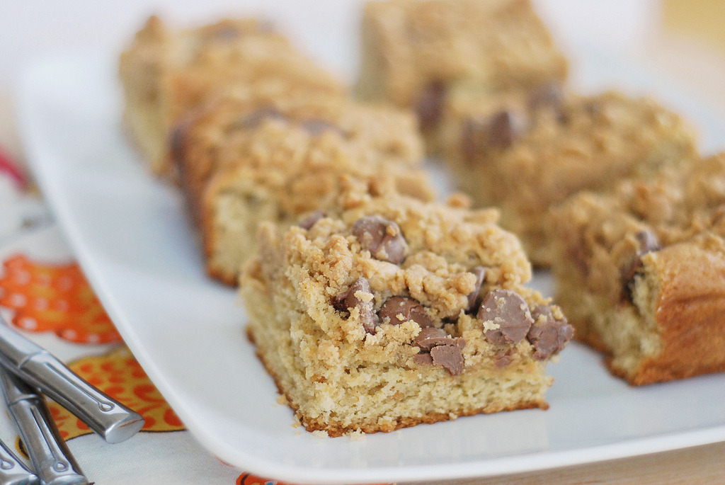 Peanut Butter Chocolate Chip Coffee Cake Recipe (x)