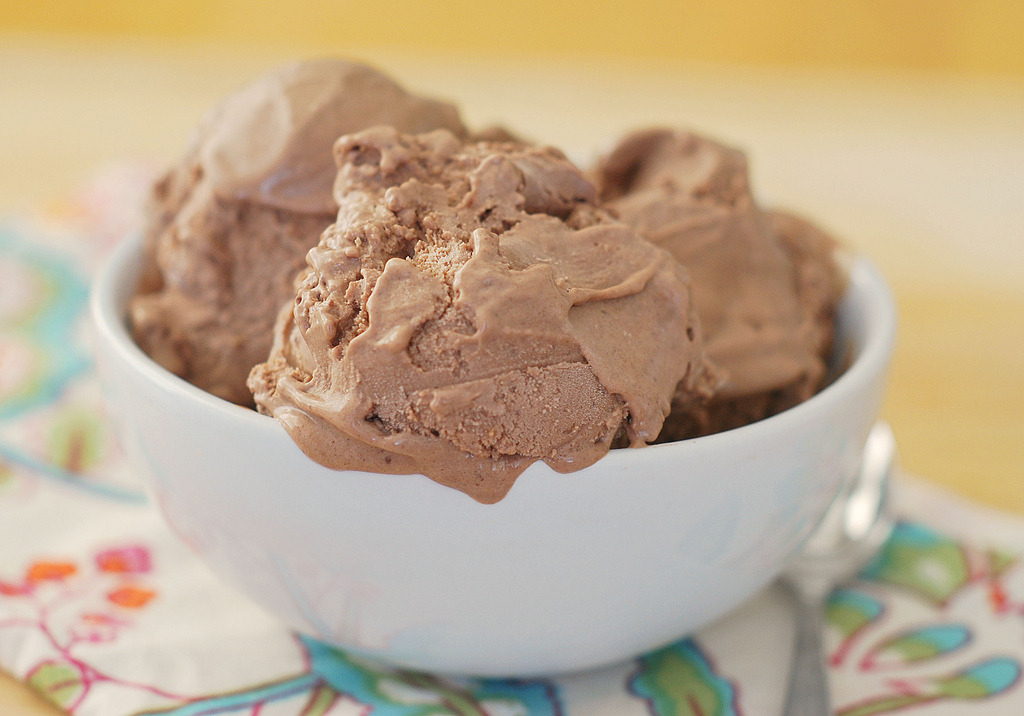 Chocolate Ganache Ice Cream Recipe (x)