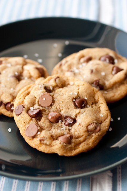 Salted Brown Butter Chocolate Chip CookiesRecipe
