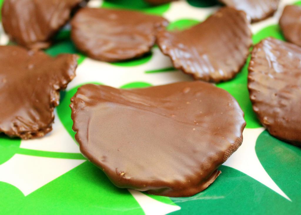 Chocolate Potato Chips Recipe (x)