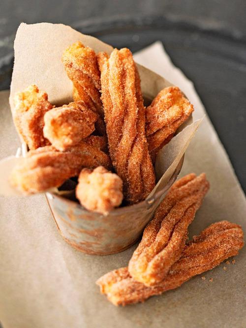 Homemade Cinnamon Churros