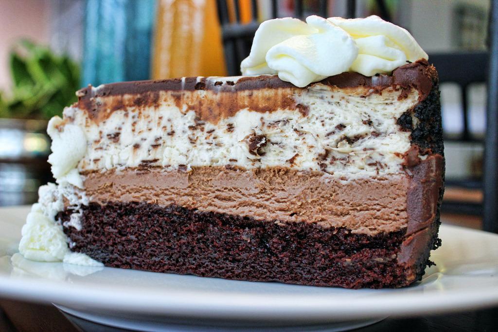 Chocolate Tuxedo Cream™ Cheesecake