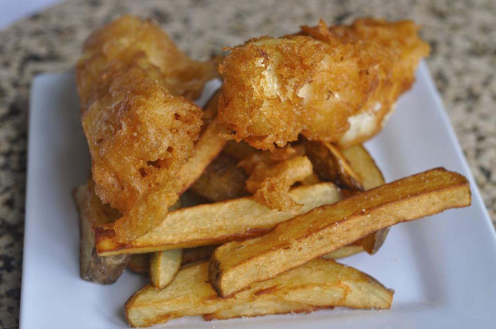 Recipe: Fish and Chips (Video)