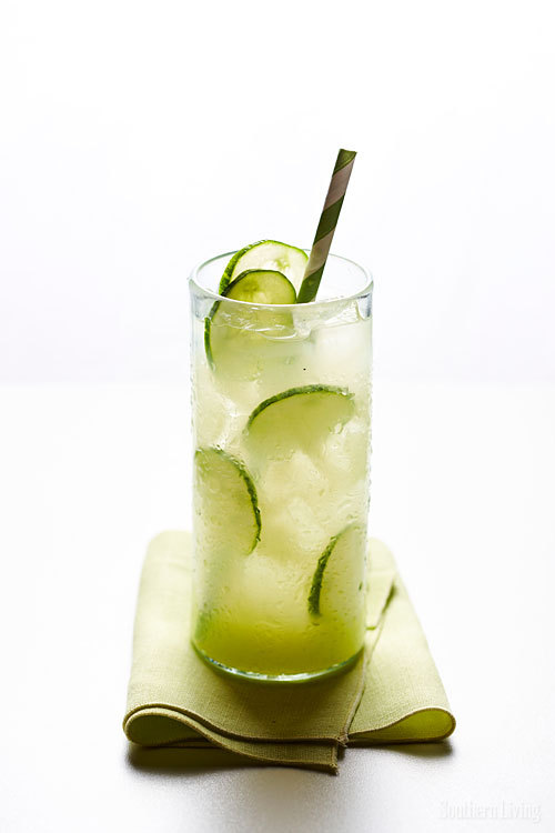 Summer Fridays! Time to sip Cucumber-Ginger Limeade. We suggest adding tequila.