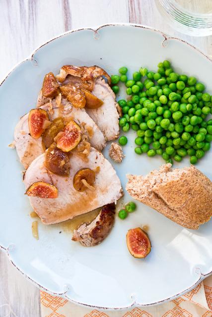 Pork Loin with Madeira-Fig Sauce