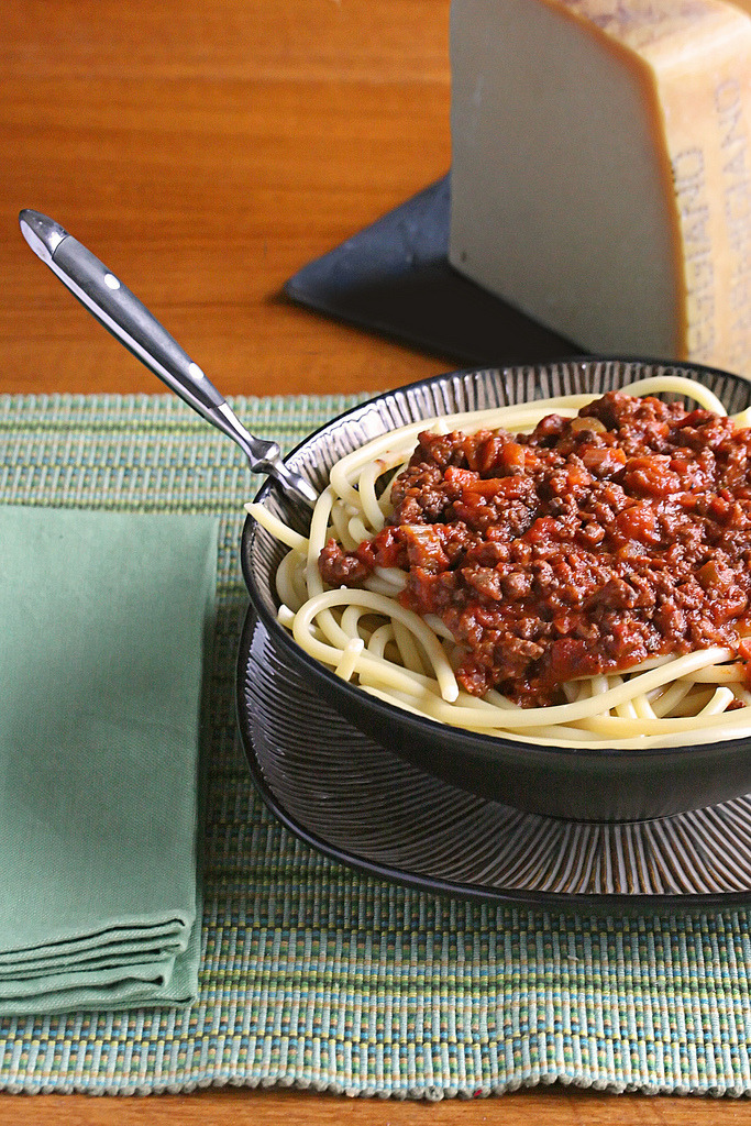 Recipe: Spaghetti with Meat Sauce
