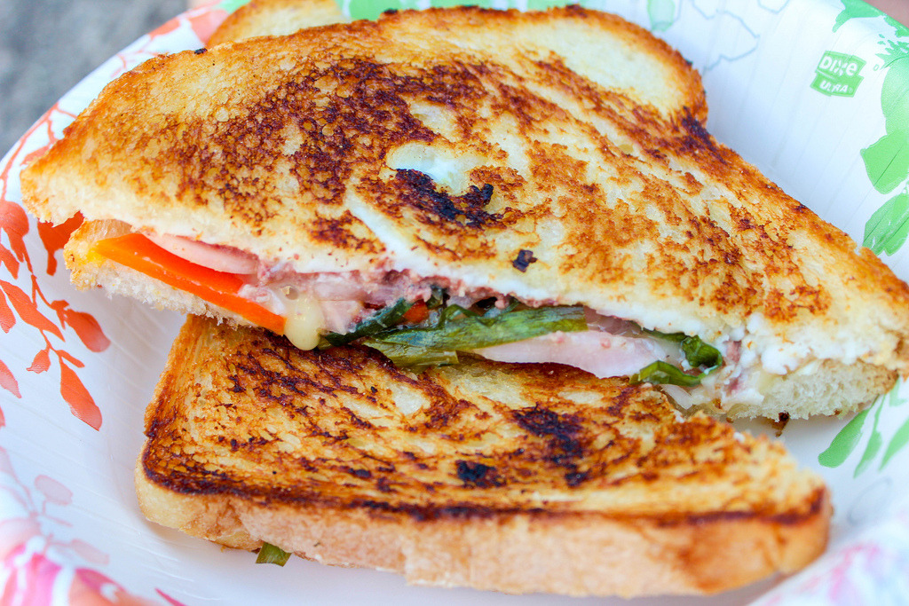 Vietnamese Grilled Cheese
