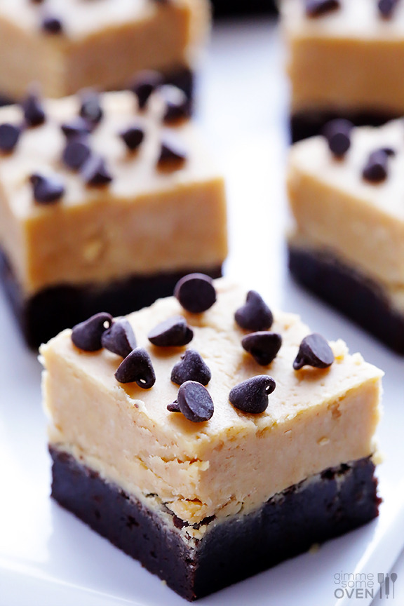 Recipe: Peanut Butter Fudge Brownies