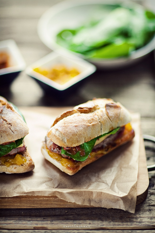 burger with hamrecipe