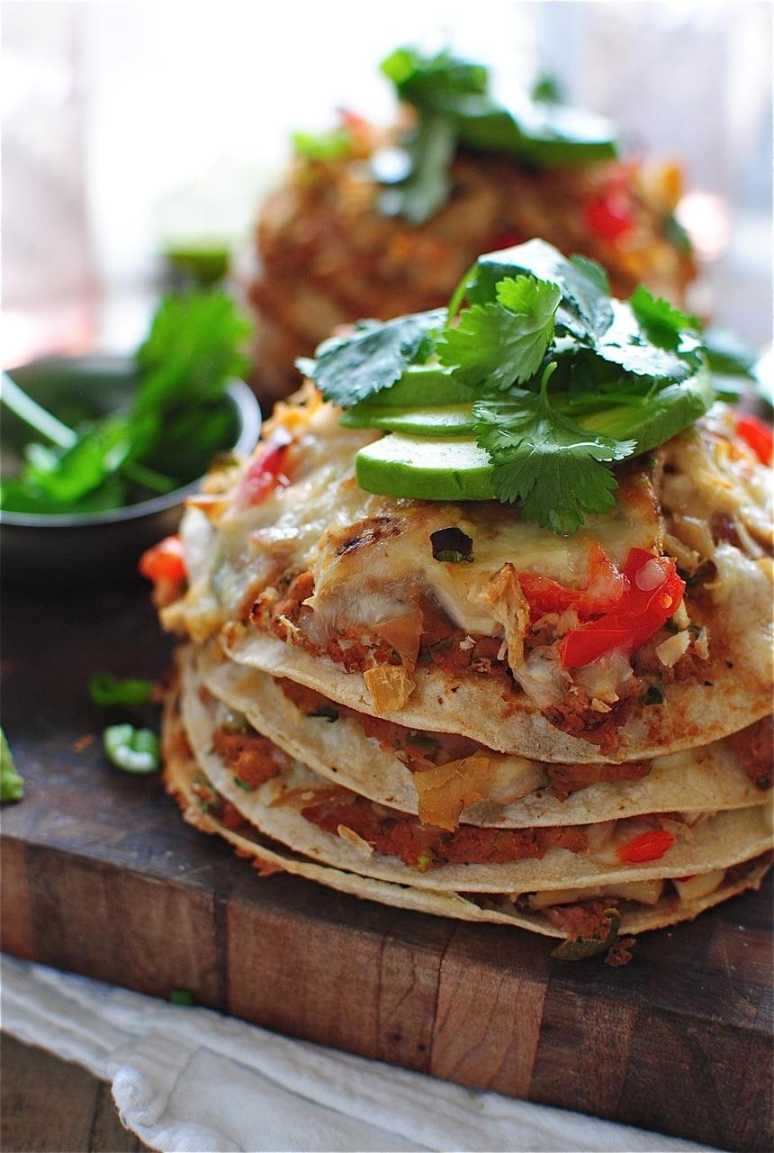 Recipe: Chicken Taco Stacks