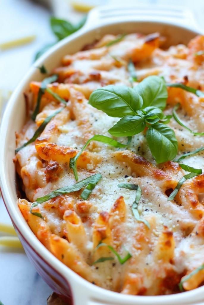 Recipe: Red Pepper Pasta Bake