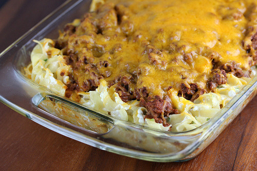 Recipe: Sour Cream Noodle Bake