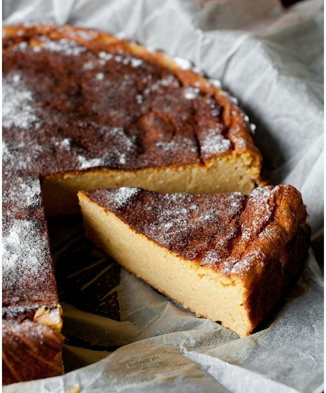 Cottage Cheese Pie With Pumpkin