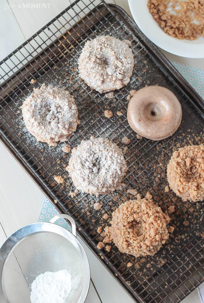 Crumb Doughnuts Baking a Moment