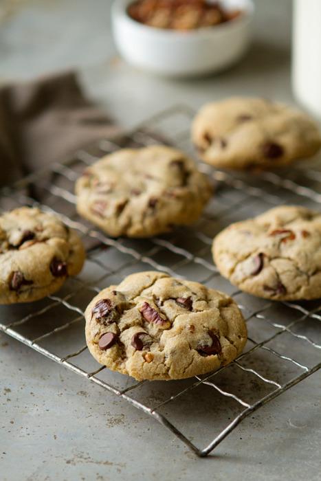 Dark Chocolate Chip Pecan Cookies My Baking Addiction
