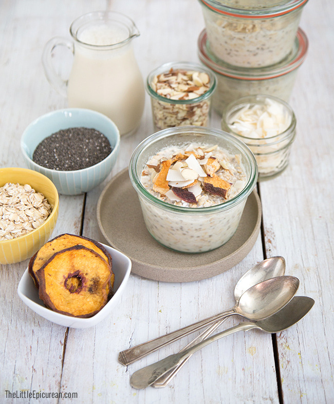 Overnight Chia Seed Oatmeal The Little Epicurean