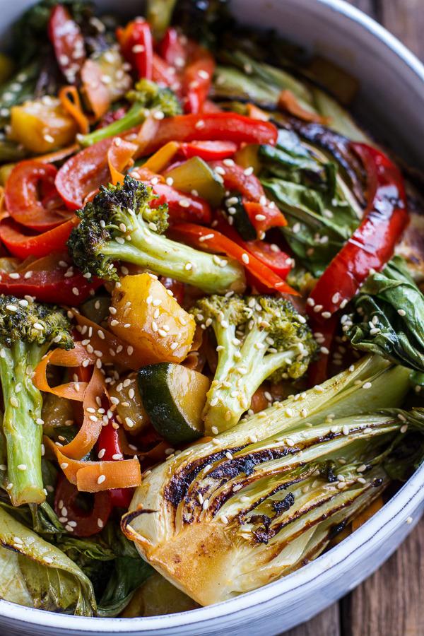 Veggie Chicken Stir Fry