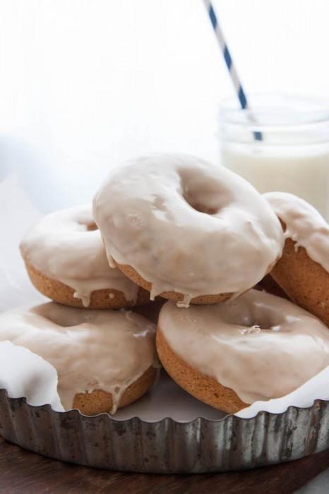 Maple Glazed Buttermilk Donuts The Corner Kitchen
