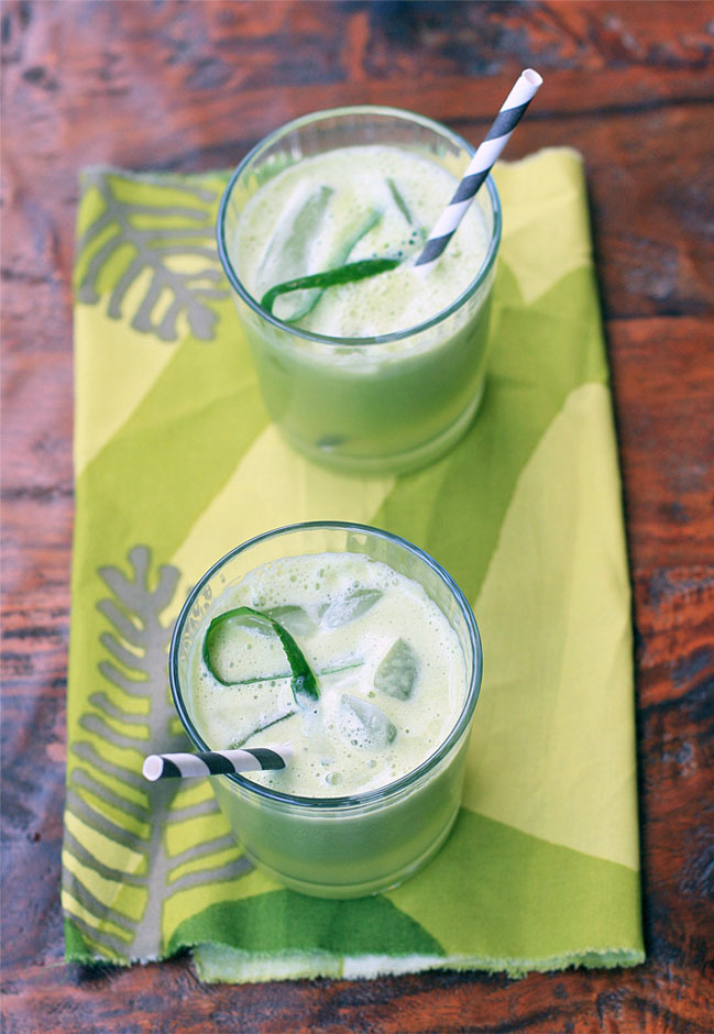Apple and Cucumber Cooler