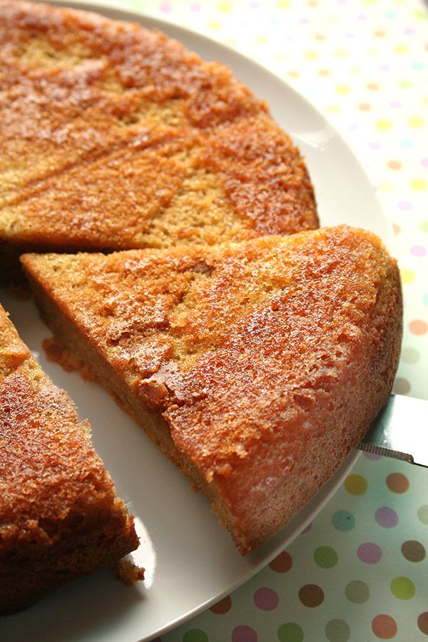 Three-Ingredient Flourless Peanut Butter Cake