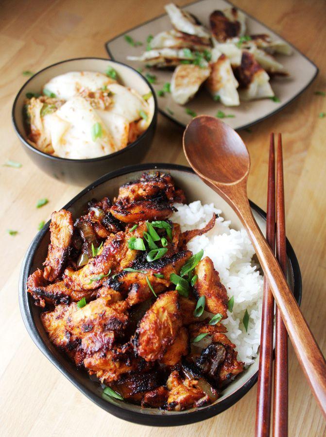 Korean Spicy Chicken Northwest Workshop