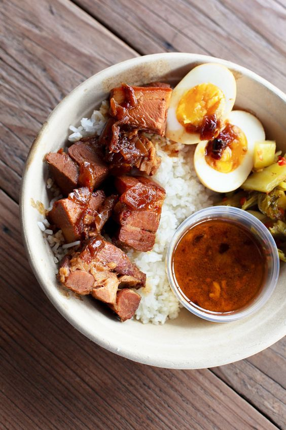 Vietnamese Braised Pork Belly with Jasmine Rice and Egg See and Savour